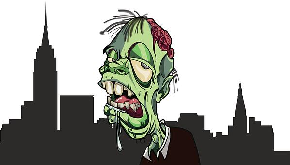 Zombie, City, Apocalypse, Horror