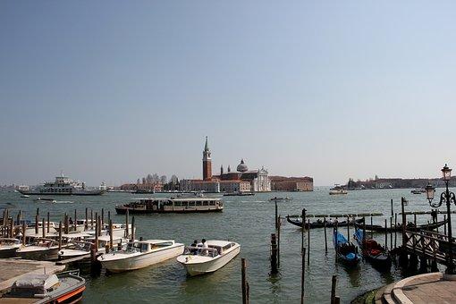 San Giorgio Maggiore, Canale Grande, Rialto Bridge