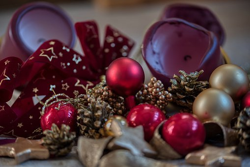 Christmas Decorations, Christmas Jewelry, Candles