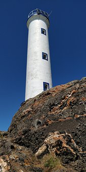Ciel, Sky, Lighthouse, Light, Water, Nature, Coast