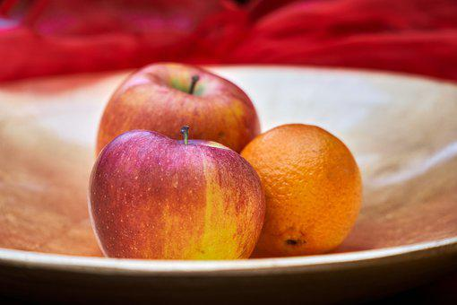 Apple, Fruit, Healthy, Decoration, Plate, Shell