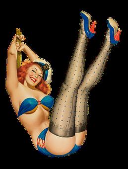 Pin Up Girl, Erotic, Woman, Sexy, Pin Up, Pose