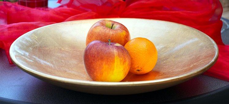 Shell, Apple, Fruit, Fresh, Vitamins, Red, Ripe, Eat