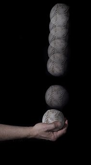 Baseball, Hand, Game, Charity, Sports, Play, Ball