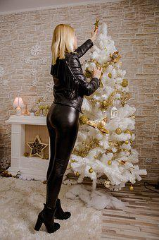 Sexy Ass, Lady, Blonde, December, Winter