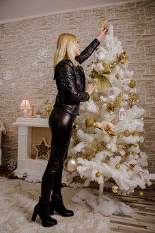 Sexy Ass, Lady, Blonde, December, Winter