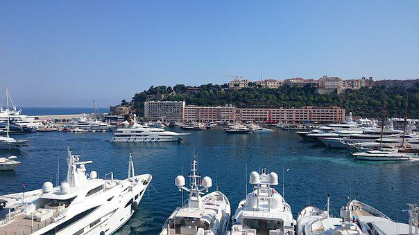 Monaco, Yachts, Boats, Sailing, Luxury, Sea, Water