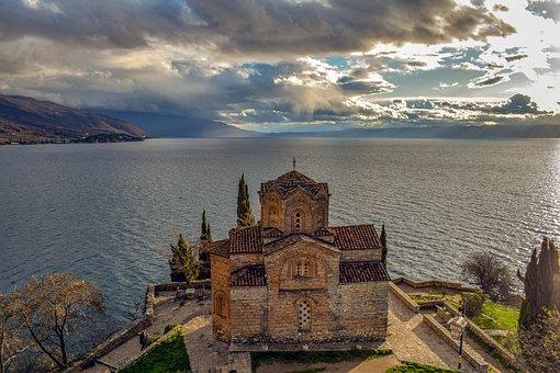 Sveti Jovan Kaneo, Ohrid, North Macedonia, Landscape