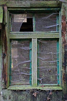Old, Window, Old Building, Lost Places, Building, Glass