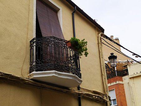 Terrace, House, Old, People