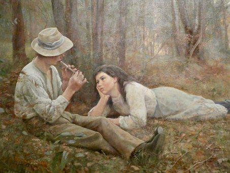 Painting, Artist, Famous, Roberts, Creative, Couple
