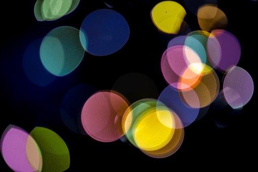 Dots, Colors, Light, Bokeh, Pattern, Circle, Circles
