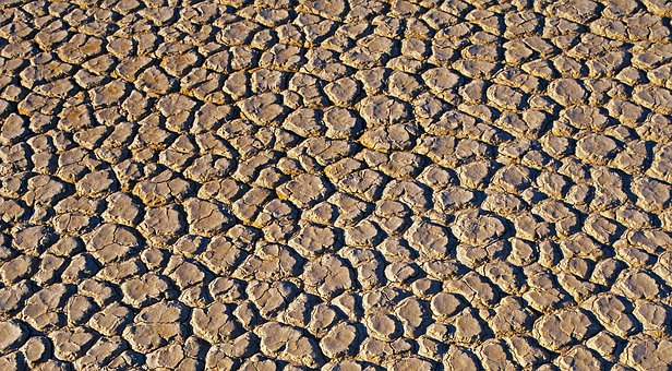 Desert, Pattern, Crack, Land, Dry, Texture, Drought