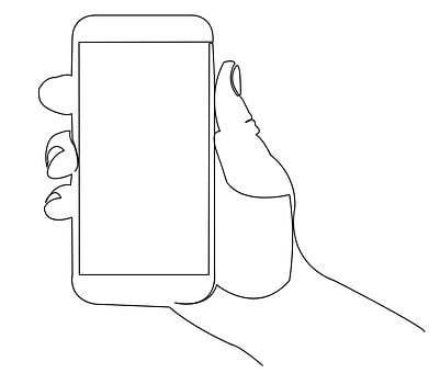 Holding, Mobile, Hand, Phone, Smartphone, Cellphone