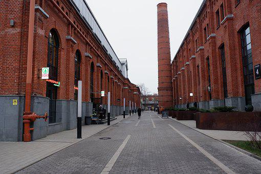 Plant, Trumpet, Industry, Architecture, Old, Factory