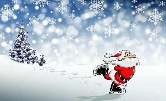 Christmas, Santa Claus, Holidays, December, Santa, Snow