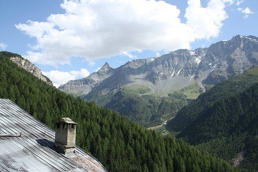 Alps, Savoie, Mountains, France, Rhône-alpes, Glacier