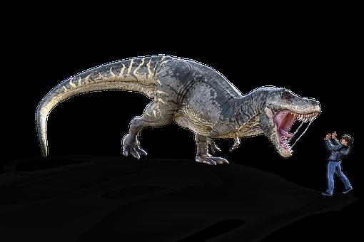 Dinosaur, Tyrannosaurus Rex, T Rex, Extinct, Dino