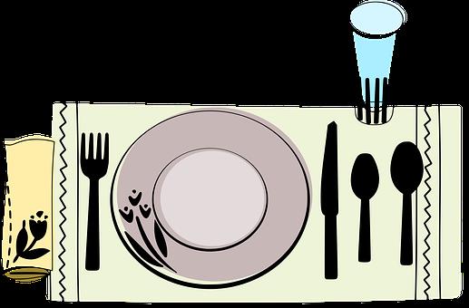 Table, Plate, Manners, Salt, Pepper