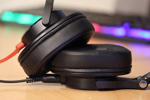 Headphones, Audio, To Listen, Listen, Music Studio