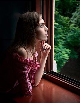 Girl, Window, Beauty, Cover, Hands, Dreamy, Memory