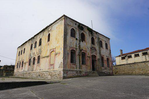 Sinop, Prison, Building, Structure, Old, Buildings