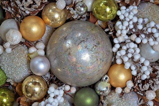 Christmas, Christmas Piece, Christmas Balls, Tinkering