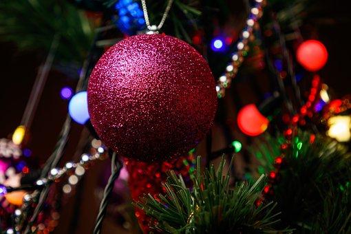 New Year's Eve, Christmas Tree, Christmas Tree Toy