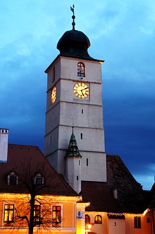 Tower, Building, Architecture, Church, Historically