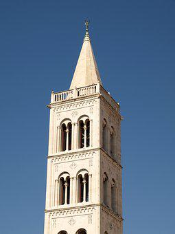 Zadar, Church, Tower, Architecture, History, Dalmatia