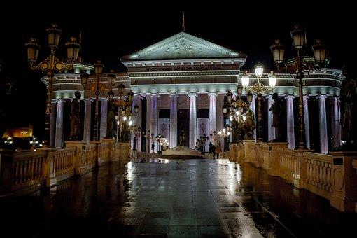 Architecture, Building, Classical, Columns