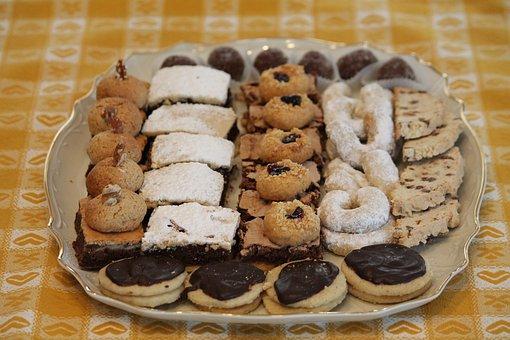 Biscuit, Cookie, Christmas, Cookies, Food, Sweet