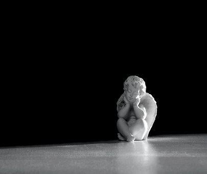 Angel, The Figurine, Ornament, Decoration, Wings