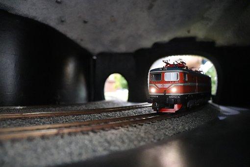Electric Train, Train, Rail, Electric