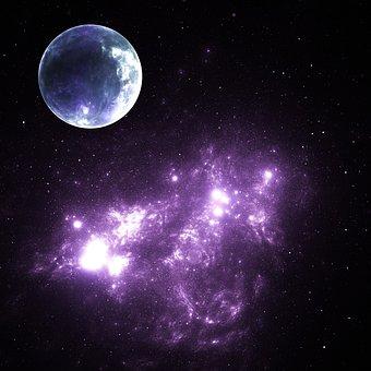 Space, Planet, Galaxy, Universe, Stars, Fantasy, Cosmos