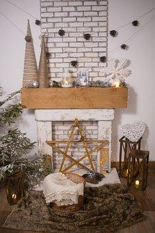 Christmas, Christmas Backdrop, Lights, Christmas Lights