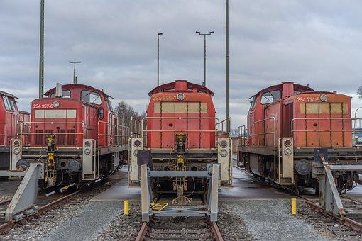 Locomotive, Switcher, Railway, Loco, Diesel Locomotive
