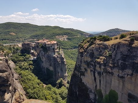 Meteora, Greece, Landscape, Stone, Travel, Nature