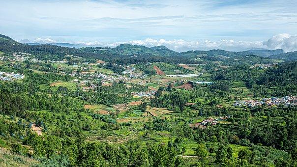 Landscape, Blue Sky, Nature, Hills, Western Ghats