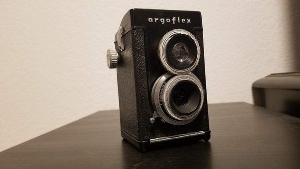 Camera, Old, Classic, Retro, Nostalgia, Lens