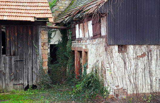 Building, Old, Historically, Decay, House, Ruin