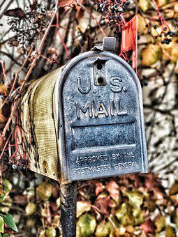Mailbox, Post, Mail, Mail Box, Letter Boxes, Send