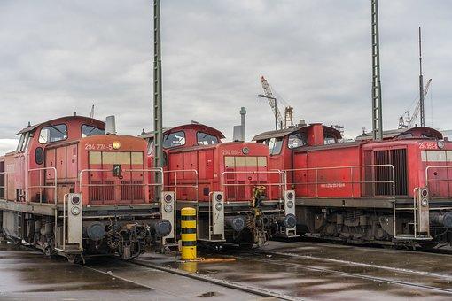 Locomotive, Switcher, Railway, Loco, Train