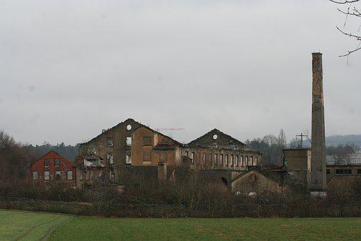 Demolition, Break Up, Abandoned, Broken, Old, Ruin