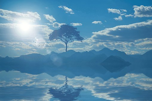 Landscape, Nature, Watch, Reflection, Scenic, Summer