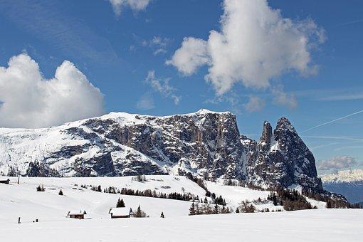 Schlern, Dolomites, South Tyrol, Italy, Mountain