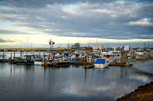 Harbor, Boats, Ocean, Water, Boat, Port, Sea, Sailing