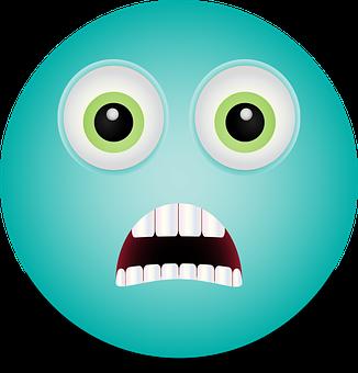 Graphic, Horrified Smiley, Emoji, Smiley, Shocked