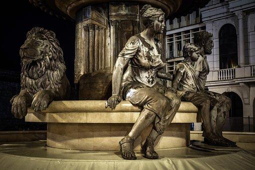 Sculptures, Monument, Statue, Memorial, Marble, Artwork