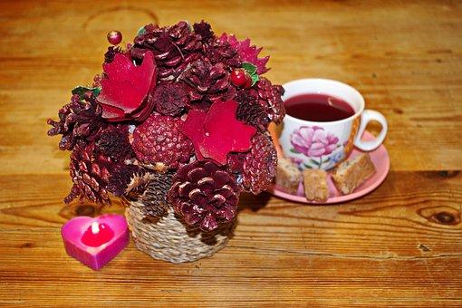 Cup Of Tea, Decorations, Tea, Cup, Teacup, Decoration